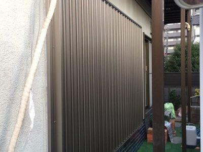 多摩市 S様邸 採光通風雨戸「セキュアガード」設置工事